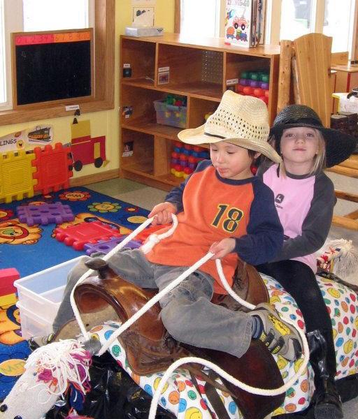 riding-on-a-saddle